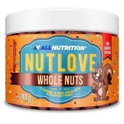ALLNUTRITION NUTLOVE WHOLE NUTS 300 g ALMONDS IN WHITE CHOCOLATE WITH COCONUT